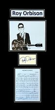 Roy Orbison Original Autograph