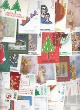Canada 27 All Different Christmas Booklets Face $99.68 All Vfnh