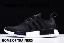 Adidas NMD R1 S82269 black White Women's Trainers All Sizes-SALE