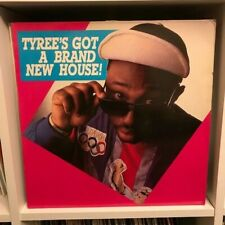 "Tyree – Tyree's Got A Brand New House! 12"" Vinyl LP 1988 Turn Up The Bass Acid"