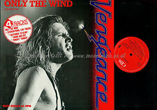 LP--VENGEANCE ONLY THE WIND // MAXI SINGLE