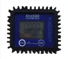 LCD 5-digital Oil fuel oval 1/2'' gear' flow meter Diesel gasoline kerosene New
