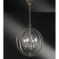 Pendelleuchte Rustikal Hängelampe Wohnzimmer Leuchte Landhausstil Lampe Retro