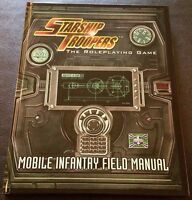 STARSHIP TROOPERS The Roleplaying Game MOBILE INFANTRY FIELD MANUAL D20 HC NEW!