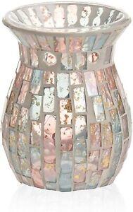 Yankee Candle Pastel Romance Mosaic Melt Warmer and Five Wax Tarts Melts NEW