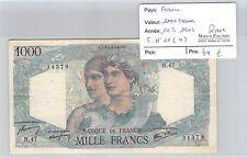 BILLET FRANCE - 1 000 FRANCS - 14.6.1945 - RARE !!!