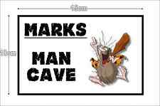Metal Sign Personalised ManCave Sign Plaque Father Day Shed Garage 15 x 10