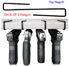 4-pack Ultimate Gun Safe Pistol Hanger Storage Hook Rack Holder Organizer GNH4