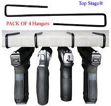 4-pack Ultimate Gun Safe Pistol Hanger Storage Hook Rack Holder Organizer GNH4