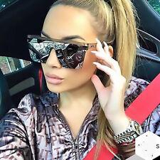 Trending 2021 Flat Top Square Sunglasses Women Driving Outdoor Shades Eyewear