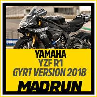 Kit Adesivi Yamaha R1 GYRT Development Kit 2018 - High Quality Decals
