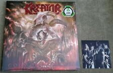 KREATOR - Gods Of Violence - Vinyl Record with Autographed Signed Photo Card New
