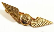 Pilot's Gold tone Wings Pin Badge Tie clip clasp US AIR MAIL Northwest Airline