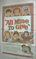 Filmplakat,PLAKAT, ALL MINE TO GIVE,GLYNIS,JOHNS,CAMERON MITCHELL, THOMSON,#189