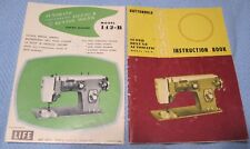 Remington Super Deluxe 142-B Automatic ZigZag Sewing Machine Manual/Booklet 1965