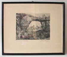 Original-Lithographien (1900-1949) aus Europa mit Landschafts-Motiv