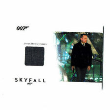James Bond Autographs & Relics Relic Costume Card SSC15 Daniel Craig #169/200
