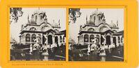 Francia Parigi Esposizione Universale 1900 Pavillon Serbia Grecia Foto Stereo