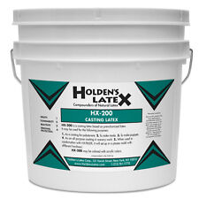 HX-200 LIQUID MASK MAKING AND CASTING LATEX RUBBER 1 GALLON SIZE