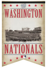 Washington Nationals NATS PARK CLASSIC GAMEDAY Premium Felt Wall BANNER