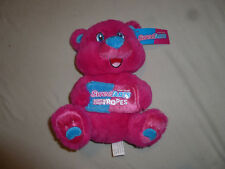 New W Tag Kellytoy Plush Bear Sweetarts Soft & Chewy Ropes Nwt Pink Blue Candy >