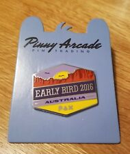 Pinny Arcade PAX Aus 2016 Early Bird Pin Australia