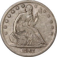 1861-S Seated Half Dollar - Civil War Date Great Deals From The Executive Coin C