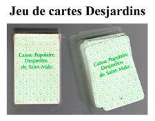 Desjardins Caisse Populaire Saint-Malo Jeu de Cartes (Bank collectibles)