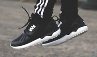 Adidas Mens Tubular Runner Black/White Size 11 Leather New With Box