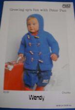 Wendy Peter Pan Chunky Child's Coat Knitting Pattern P593
