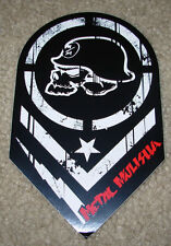 "METAL MULISHA Chevron Blk Red Helmet Skate Sticker 6"" motocross skateboard decal"