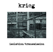 "KRIEG Isolation/Transmission 7"" purple vinyl limited to 166 black metal NEW"