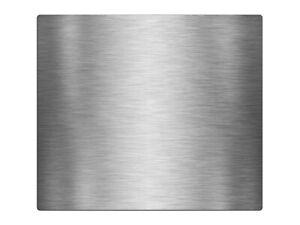 Herdabdeckplatte, Ceranfeldabdeckung, Edelstahl Optik gebürstet HA571458595