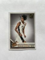 2019-20 Panini Clearly Donruss Basketball Nicolas Claxton Rated Rookie Gold #79