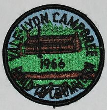 Crumhorn Mt Scout Camp (NY) 1966 Yale-Lyon Camporee Pocket Patch  BSA