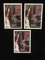 Shaquille Oneal 93 Topps  #134. Base & 2 Gold Cards