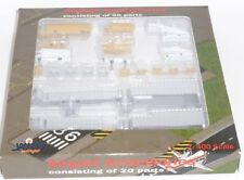 20 Piece Airport GSE Vehicles Accessories Set Witty Wings Model Scale 1:400 G
