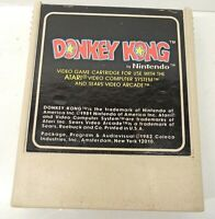 DONKEY KONG video game ATARI cartridge TESTED vintage