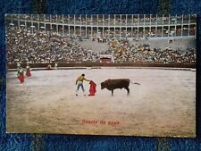 Postcard - Bullfighter & Bull (P200331)