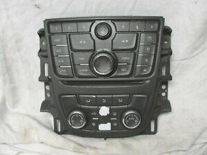 12-16 Buick Verano Radio Stereo Climate Control Panel Dash Faceplate 22871094