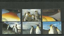 SOUTH GEORGIA SG411-415 PENGUINS USED CTO SET