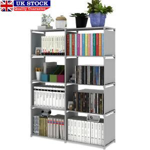 5 Tier Modern Book Shelves Storage Shelf Bookcase Display Unit Stand Organizer