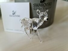 More details for swarovski crystal fawn genuine with certificate boxed