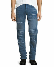 True Religion Men's Rocco No Flap Jeans Size 29 x 33 NWT EPI Ace Wash Distressed