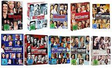 GREY'S GREYS ANATOMY 1-10 DIE KOMPLETTE STAFFEL 1 2 3 4 5 6 7 8 9 10 DVD DEUTSCH