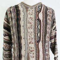 VTG ROUNDTREE & YORKE COTTON ACRYLIC BLEND COOGI BIGGIE COSBY SWEATER MENS 2XL