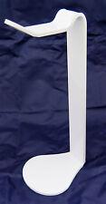 Acrilico cuffie Stand Auricolari Staffa di supporto per cuffie HI-FI bianco
