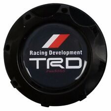 Engine Oil Fuel Filler Billet Cap Cover Aluminum Black For Toyota Racing TRD