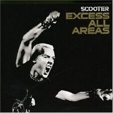 """SCOOTER """"EXCESS ALL AREAS"""" CD 16 TRACKS NEU"""
