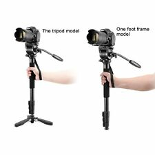"Weifeng 3958M Camera Monopod with Fluid Pan Head  Unipod Holder 1/4"" 3/8""Screw"